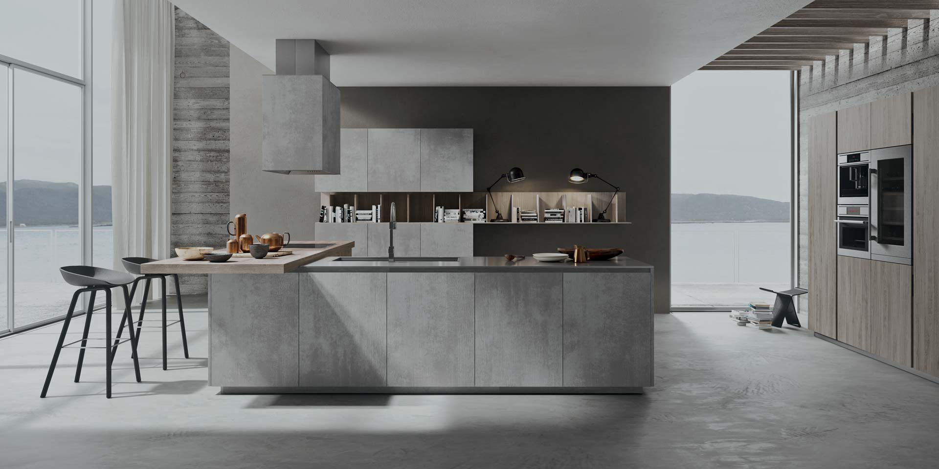 Ambiente cucina modulo arredamenti grosseto - Copat life cucine ...
